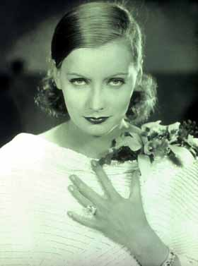 Ruth Harriet Louise, Greta Garbo (In White Dress, Hand to Chest,